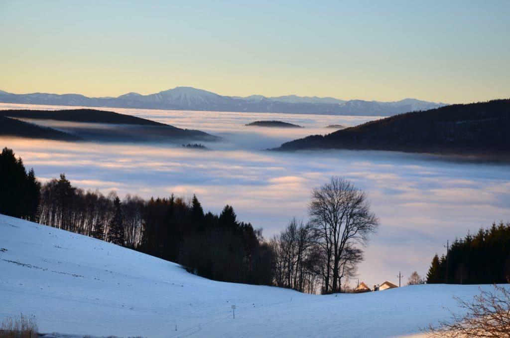 Der Alpenblick von Ulrichschlag